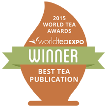 2015 World Tea Awards Winner. Best Tea Publication. World Tea Expo